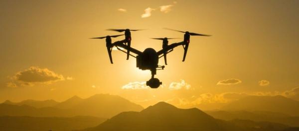 drones inspire atardecer