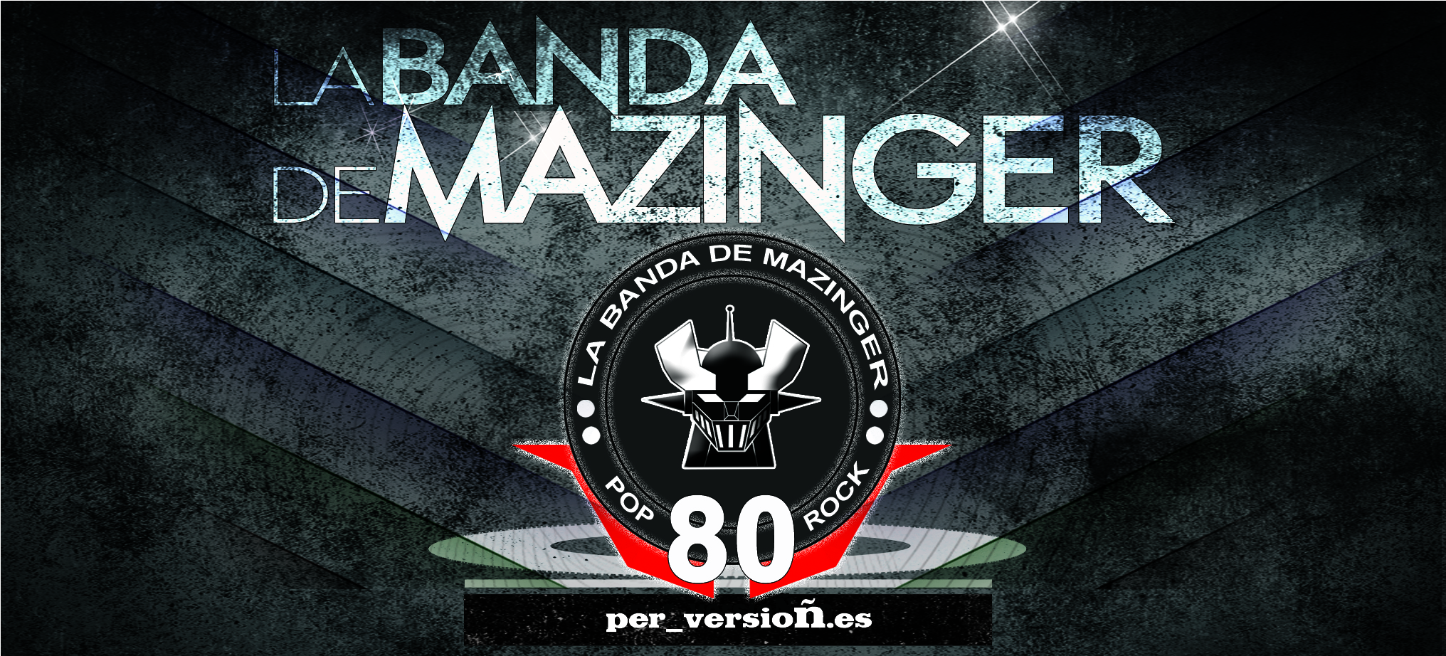 pancarta la banda de mazinger